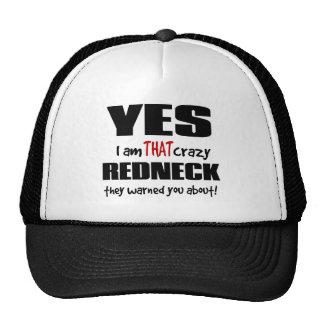 Crazy Redneck Cap