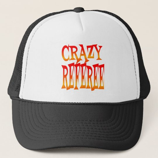 Crazy Referee in Bright Colours Trucker Hat
