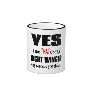 Crazy Right Winger Mug