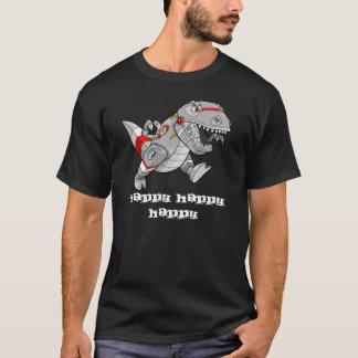 "Crazy Robot Dinosaur ""Happy"" shirt"