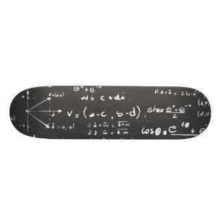 Crazy science deck doodle design custom skate board