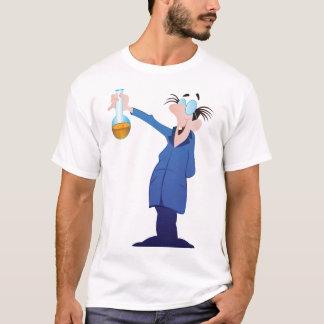 Crazy Scientist Mens T-Shirt