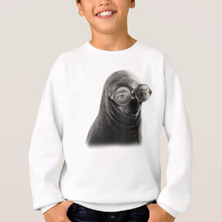 Crazy Seal Face Mask Funny Sweatshirt