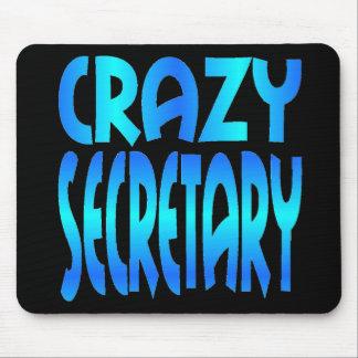 Crazy Secretary Mouse Mat