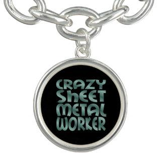 Crazy Sheet Metal Worker in Silver Metal