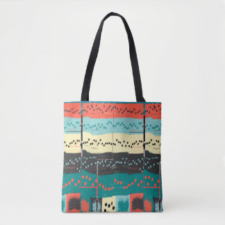 Crazy Sheet Music Tote Bag