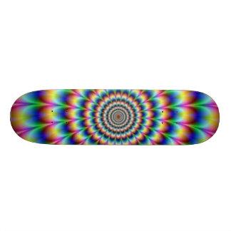 crazy custom skateboard