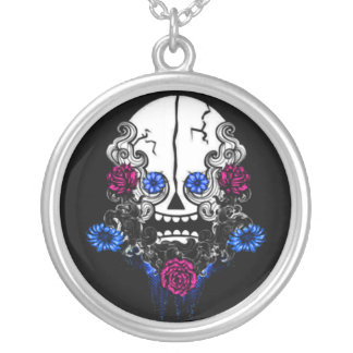Crazy Skull Personalized Necklace