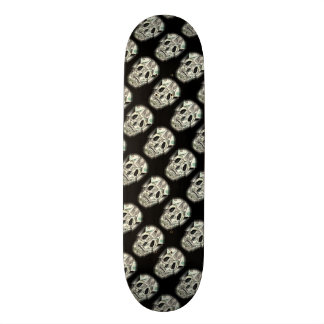 Crazy Skull pattern Skate Boards