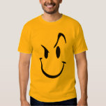 Crazy Smiley Graphic T-Shirt