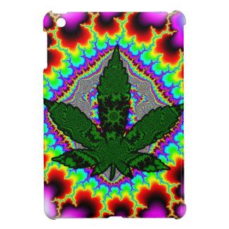 Crazy Smoke Weed Fun Rasta iPad Mini Covers