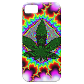 Crazy Smoke Weed Fun Rasta iPhone 5 Cover