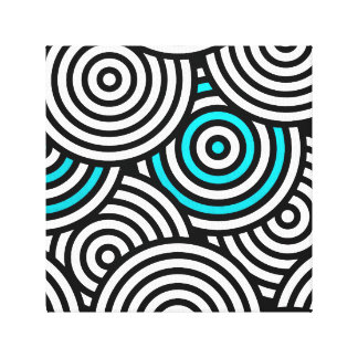 Crazy Spiral Canvas Print