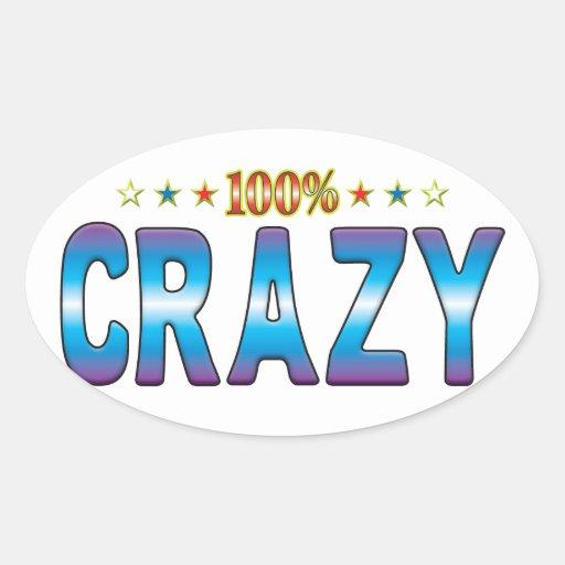 Crazy Star Tag v2 Sticker
