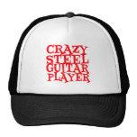 Crazy Steel Guitar Player Mesh Hat