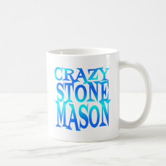 Crazy Stone Mason Coffee Mug