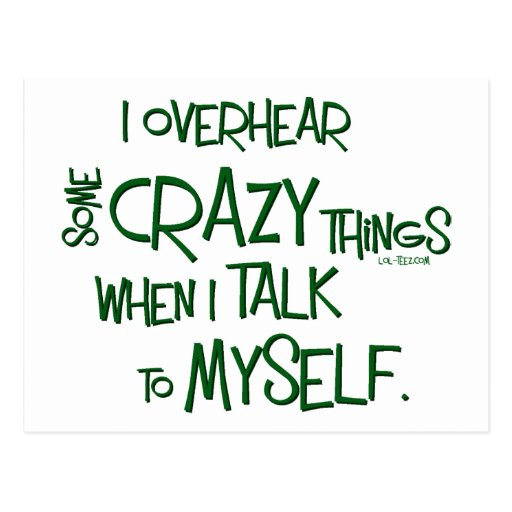 Crazy Talk Postcard