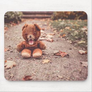 Crazy teddy bear mouse mat