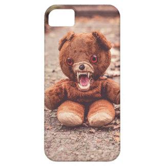 Crazy teddy bear phone case