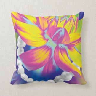 Crazy Teeth Arch Flower Art Dentist Pillows