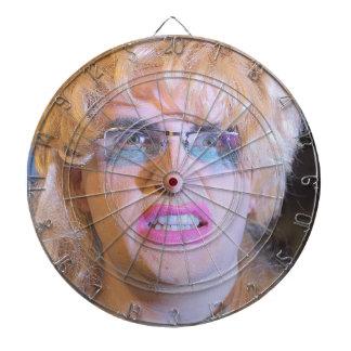 Crazy Tina  Dartboard