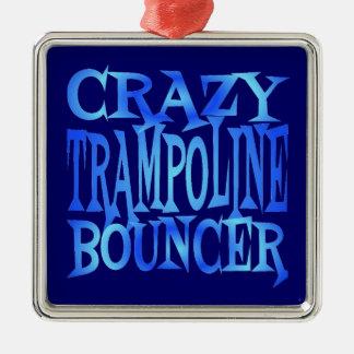Crazy Trampoline Bouncer Christmas Ornament