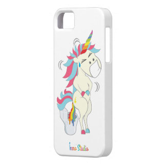 Crazy Unicorn iPhone Case