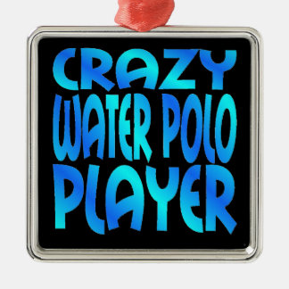 Crazy Water Polo Player Christmas Ornament