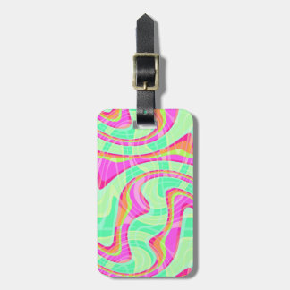 Crazy Waves Luggage Tag