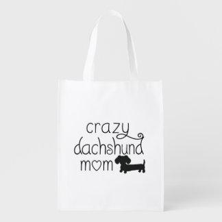 Crazy Wiener Reusable Grocery Bag