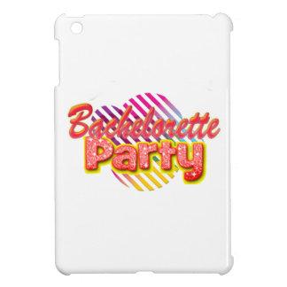 crazy wild fun retro bachelorette party bridal iPad mini covers