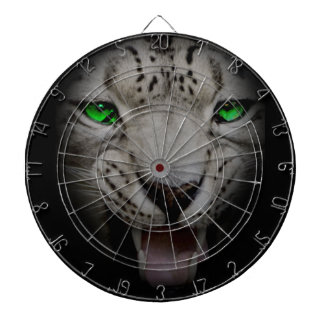 Crazy Wild Leopard Animal Cat Dartboard