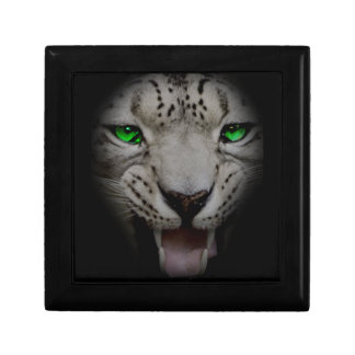 Crazy Wild Leopard Animal Cat Gift Box