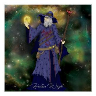 Crazy Wiz Biz, Space Wizard Art