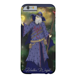 Crazy Wiz Biz, Space Wizard Art Barely There iPhone 6 Case