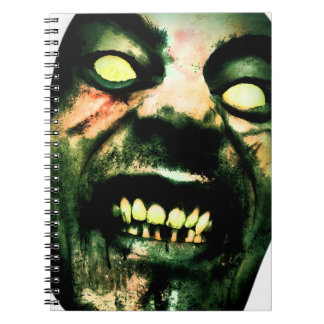 Crazy Zombie Man Face Notebook
