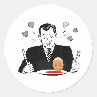 CrazyCannibal Sticker