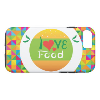 Crazydeal E7 Super colorful love food iPhone 8/7 Case