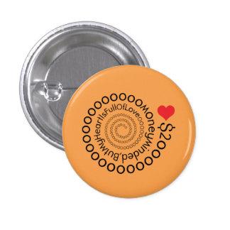 Crazydeal p533 creative custom small round button. 3 cm round badge