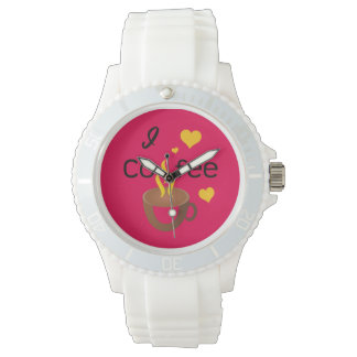Crazydeal p602 I love coffee super awesome watch