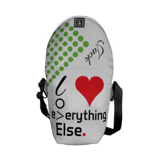 Crazydeal p696 cool crazy creative awesome love courier bags