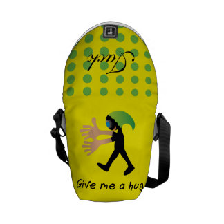 Crazydeal p704 cool crazy funny Give me a hug Commuter Bag