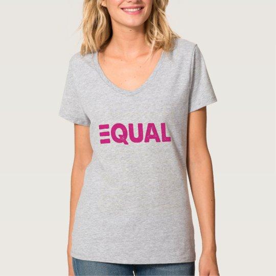 CRAZYFISH equal pink T-Shirt