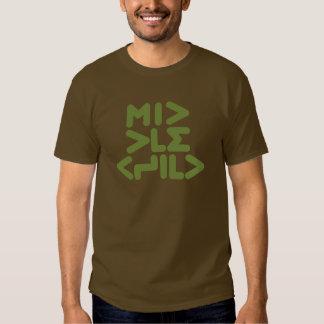 CRAZYFISH middle child Shirt