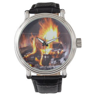 CRAZYFISH roaring fire photo Watch