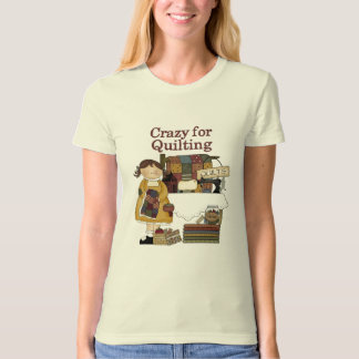crazyforquilting T-Shirt