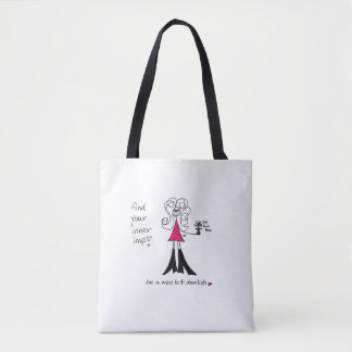 Crazyhair Imp Tote Bag