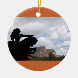 crazyHorse ornament