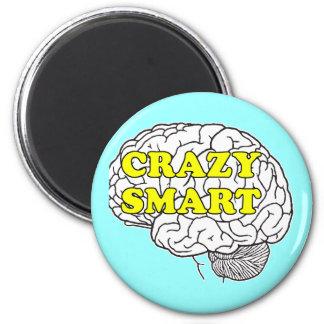 crazysmart 6 cm round magnet