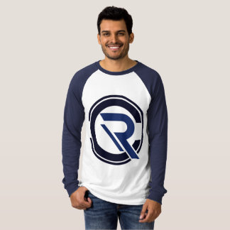 CRC Men's Long Sleeve Blue Raglan T-Shirt